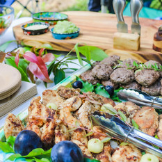 Delicious bushfoods feast