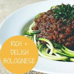 Rich & Delish Bolognese