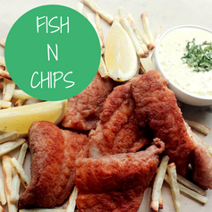 Paleo Fish n Chips with Lime Aioli