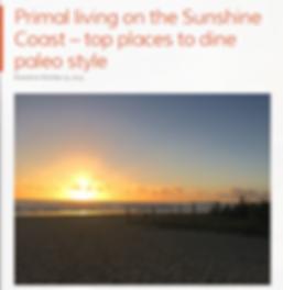 Paleo, Primal, Sunshine Coast, Maroochydore