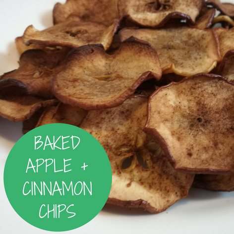 Baked Apple + Cinnamon Chips