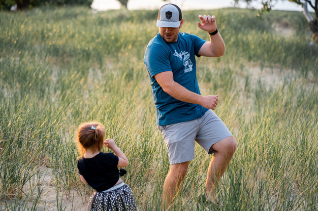 Become a fun and playful dad your kids adore!