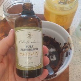 Add natural peppermint flavour