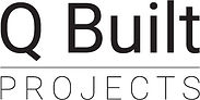 J002805 - Q Built Projects Logo Black St