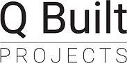 J002805 - Q Built Projects Logo Black St