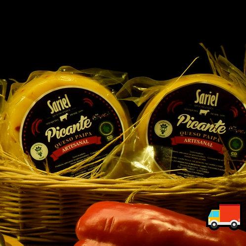Queso Gourmet Picante / 200 Gr