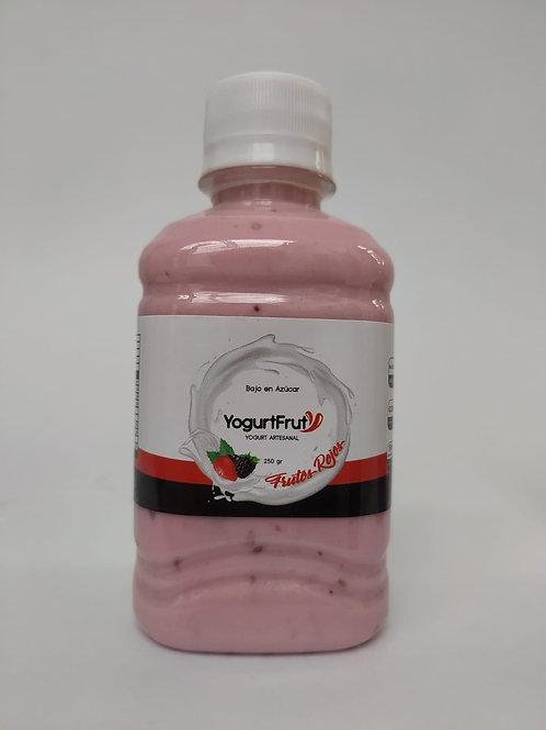 Yogurt presentación personal Frutos Rojos /250 gr