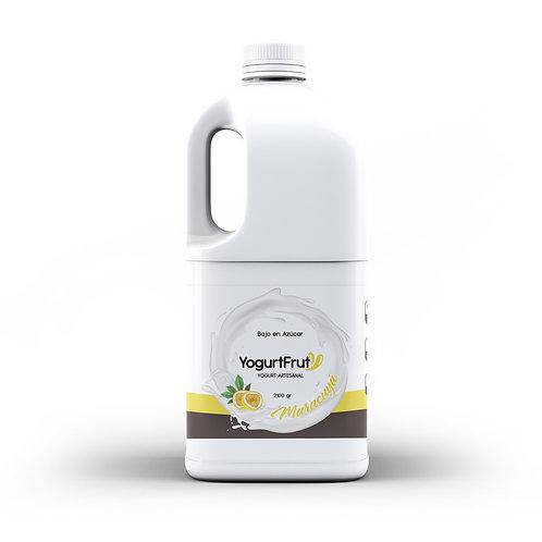 Yogurt de Maracuyá / 2 Litros
