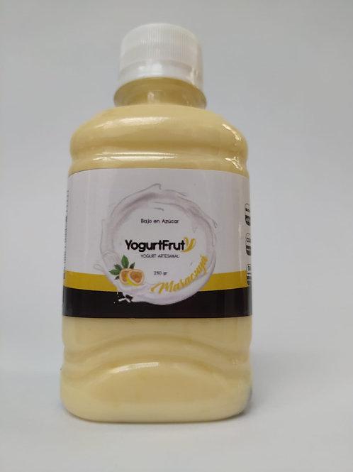 Yogurt presentación personal Maracuyá /250 gr