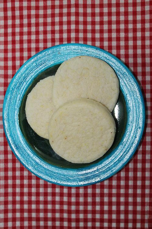 Arepa de Maíz Peto con queso