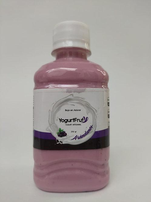 Yogurt presentación personal Arándanos /250 gr
