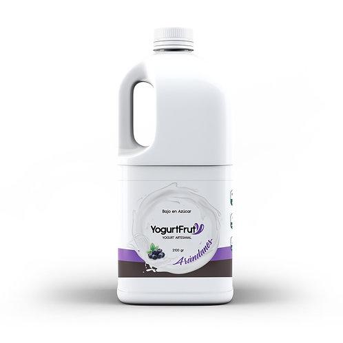 Yogurt de Arándano / 2 Litros
