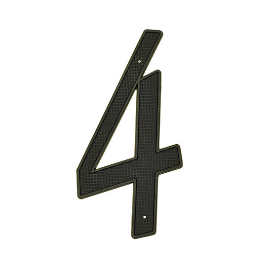 "4"" Die-Cast Nail-On House Numbers"