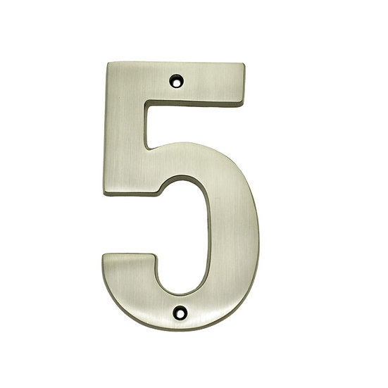 """5"""" Solid Brass House Numbers"""