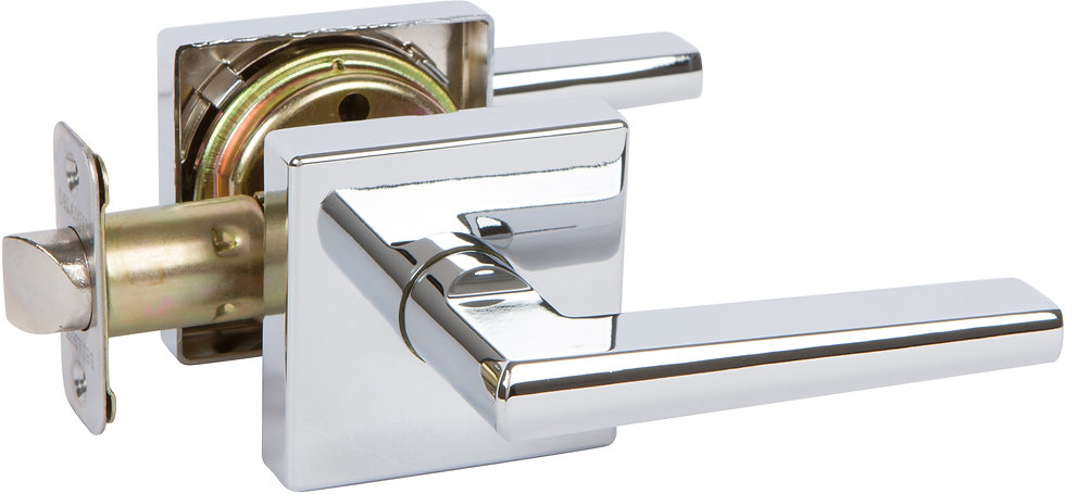 Delaney Vida Lever with Squared Backplate - Passage