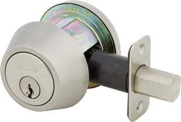 Callan Grade 2 Round Single Cylinder Deadbolt