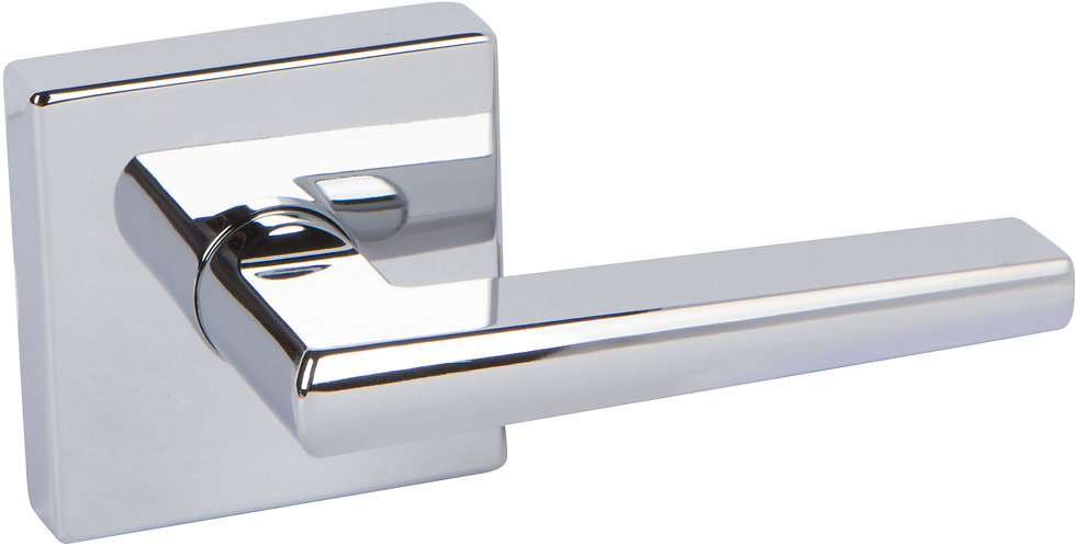 Delaney Vida Lever with Squared Backplate - Dummy