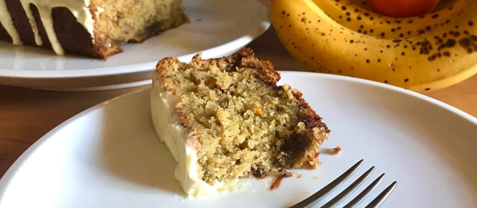 Moist & Tender Orange Banana Bread