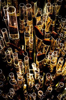 Champain bubbles