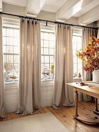 Shorten Curtains Unlined