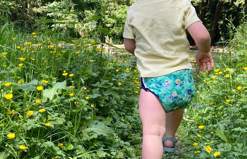 Round the Garden Nappy
