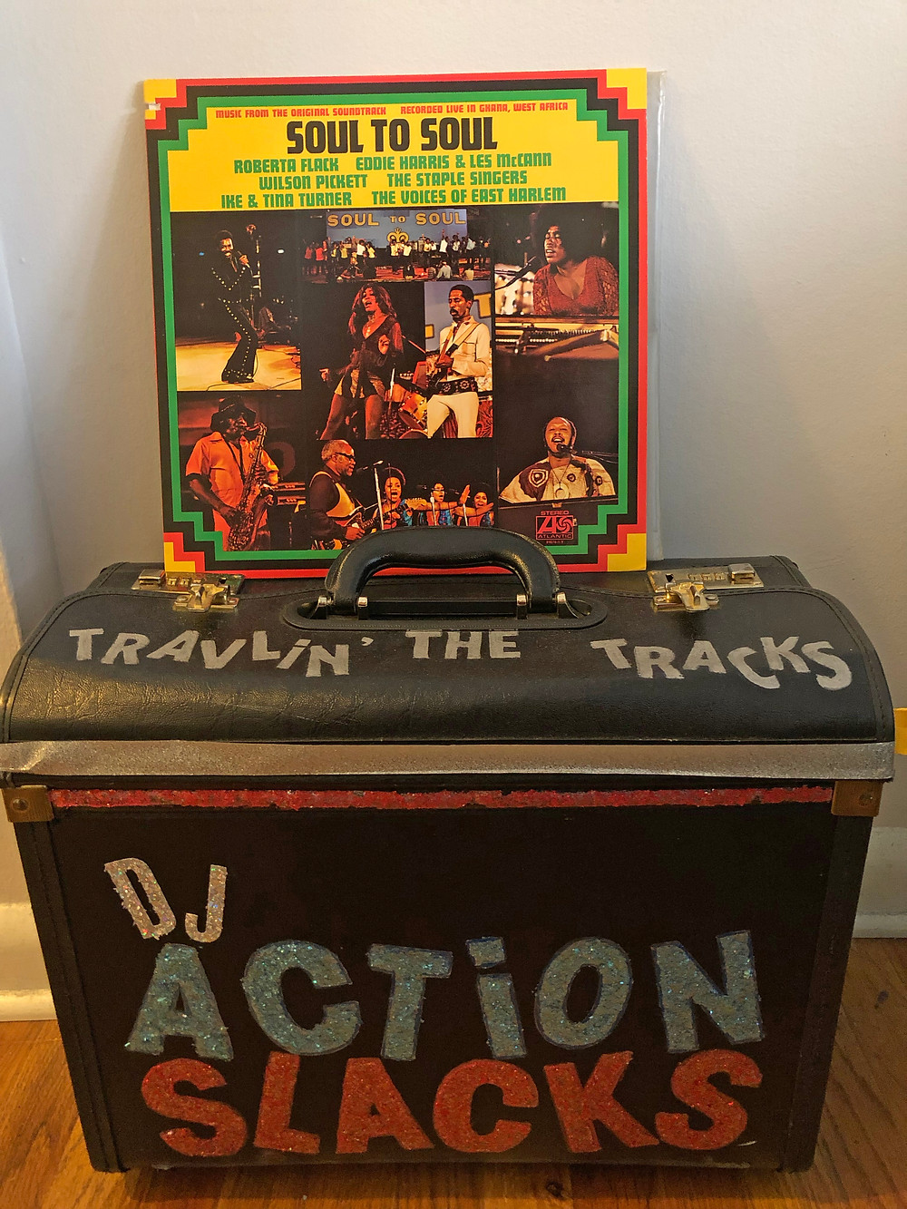Soul 2 Soul Original Motion Picture Soundtrack 1971, Travlin' the Tracks with DJ Action Slacks