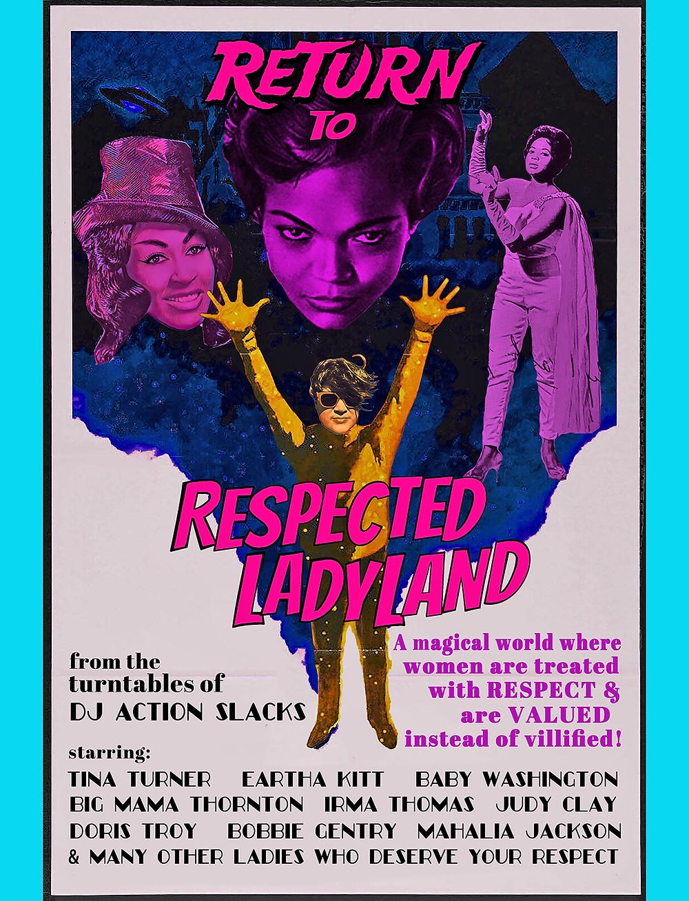DJ Action Slacks KMHD Return to Respected Ladyland, Portland Jazz Radio, Womens History Month Radio Special, Portland Soul DJ