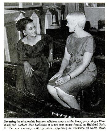 Clara Ward, Barbara Dane 1959