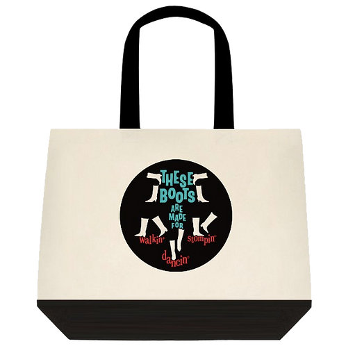 TOTE - These Boots!