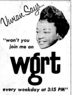 Vivian Carter Braken, WGRT, Black Women in Vintage Radio,