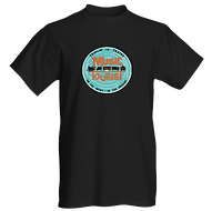 Music Tourist T-Shirt Travlin the Tracks with DJ Action Slacks KMHD
