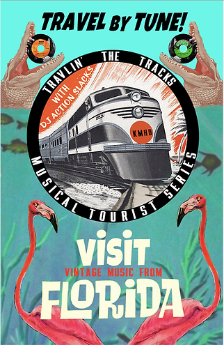 Travlin' the Tracks with DJ Action Slacks KMHD Portland Jazz Radio San Francisco Musical Tourist Series