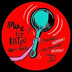 Shake It for Vintage Latin Grooves, DJ Action Slacks, Portland Vintage Vinyl DJ