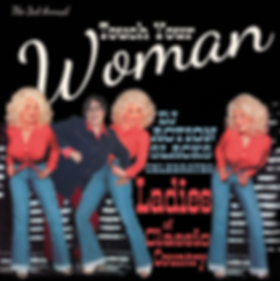 Touch Your Woman Celebration of Ladies of Classic Country Poster, DJ Action Slacks Portland Classic Country DJ, the Kenton Club,