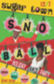 Sno Ball 2019 Soul Holiday Dance Party, The Spare Room, DJ Action Slacks Portland Soul Dj