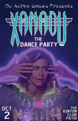 Xanadu The Dance Party, DJ Action Slacks Roller Disco Dance Party, DJ Action Slacks Portland Soul DJ, Portland Vintage Vinyl DJ, World Famous Kenton Club