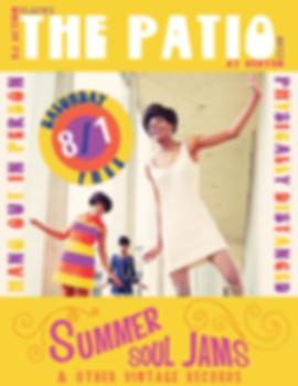 Patio Summer Soul Jams with DJ Action Slacks at the Kenton Club, Portland Soul DJ