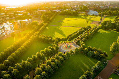 Glasgow Green Summer Sunrise