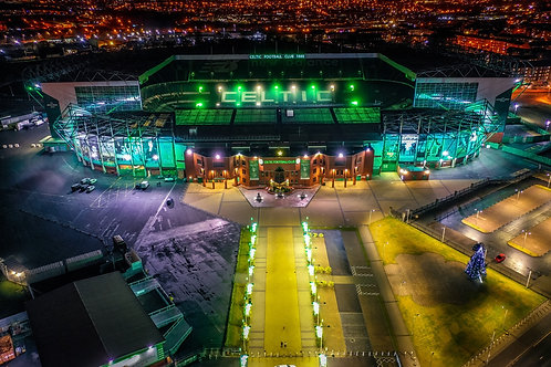 Celtic Park at Night Print