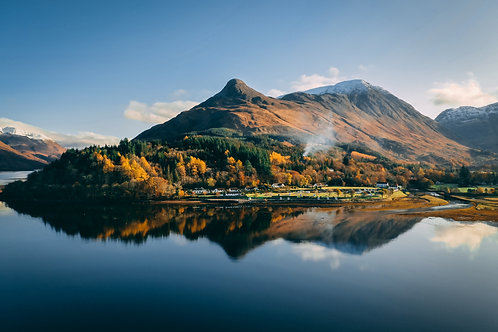 Glen Coe Autumn Print