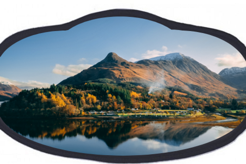Glen Coe Premium Facemask