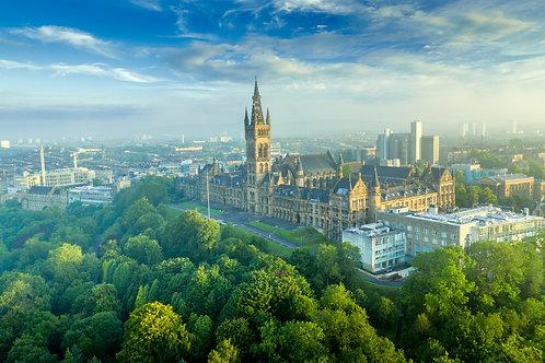 University of Glasgow Summer Sunrise