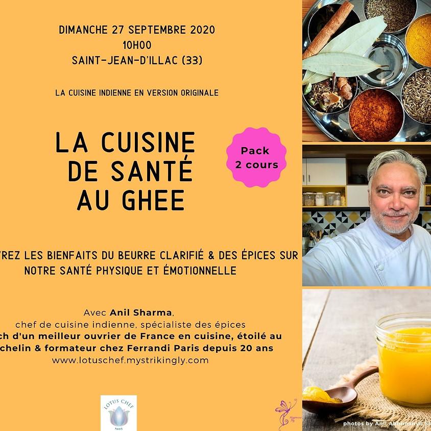 Pack Cuisine de Santé au Ghee