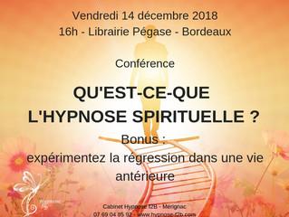 Conférence : Qu'est-ce-que l'hypnose spirituelle ?