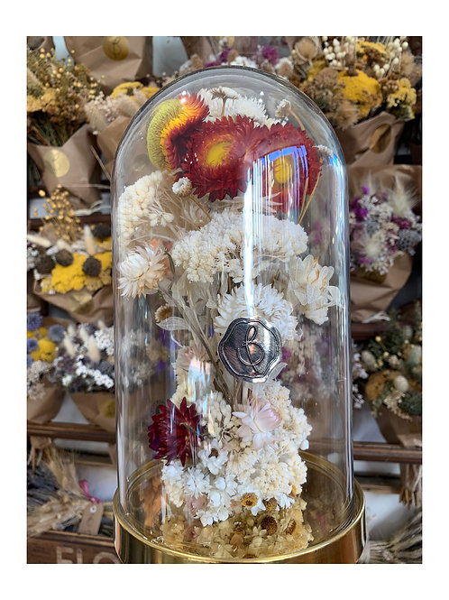 Grande cloche florale Louisette