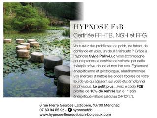 Le magazine Elle qui sortira en kiosque le 24 novembre prochain parle du cabinet Hypnose f2B