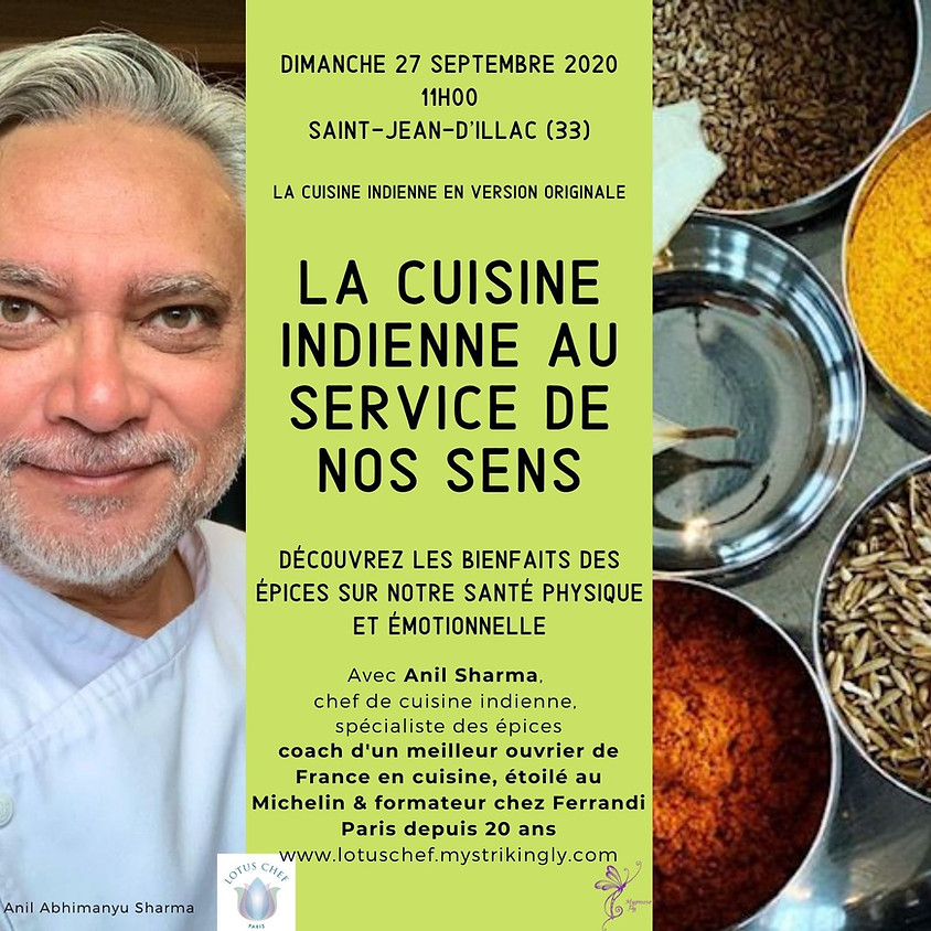 La cuisine indienne au service de nos sens