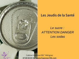 Le sucre : attention danger - les sodas