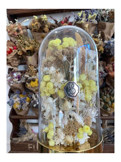 Grande cloche florale Jacqueline