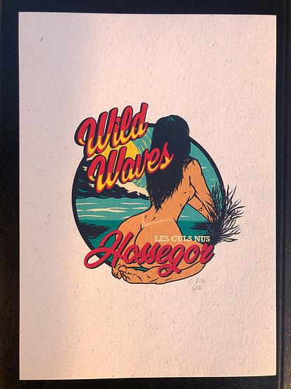 Wild Waves Art Print Hossegor